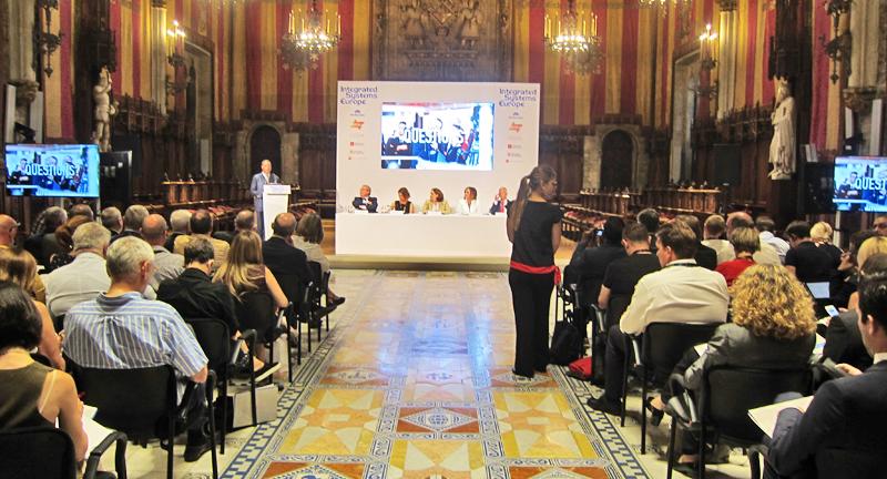 Acto oficial de presentación de ISE 2021, que tendrá lugar en Barcelona, nueva sede del evento europeo.