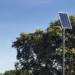 El Escorial amplía su sistema de farolas solares con una centralita inteligente que permite su gestión remota