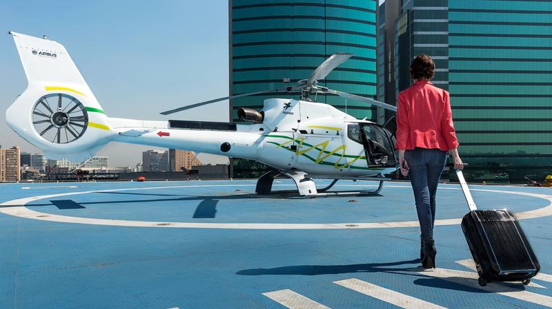La plataforma de helicópteros bajo demanda de Airbus, denominada Voom, ya opera en pruebas en asociación con Audi en São Paulo y Ciudad de México.