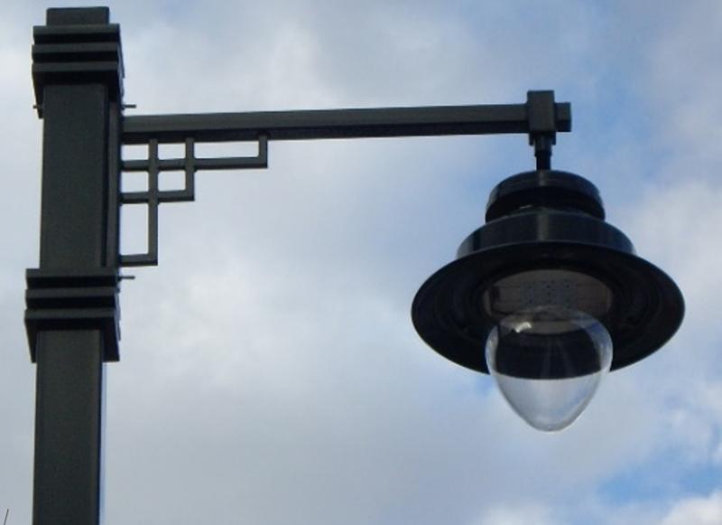 Figura 3. Luminaria de tipo Ambiental modelo Albany de Schréder.