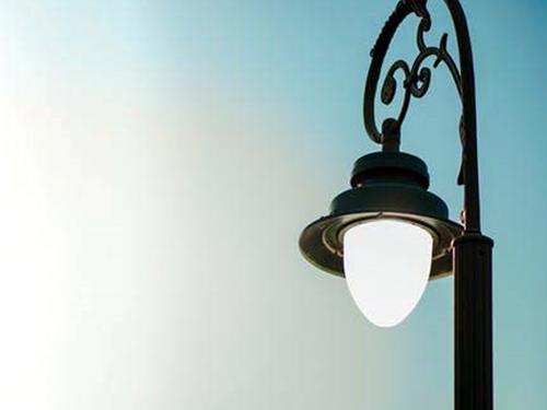 Figura 6. Luminaria ya sustituida en el casco urbano de Alcoi.