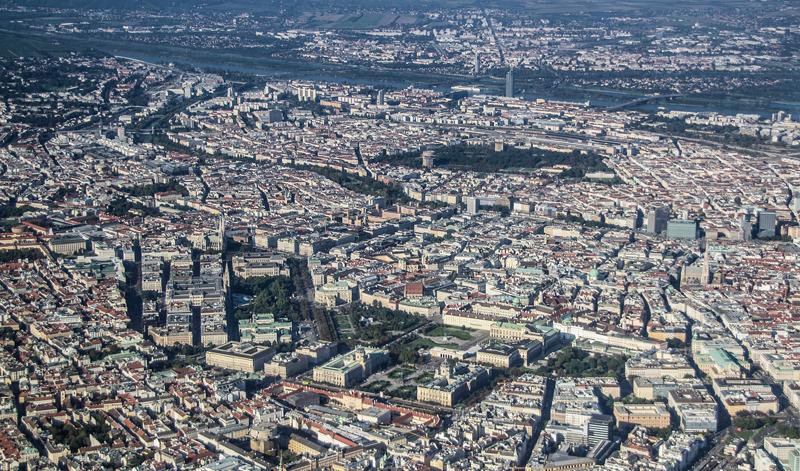 Ciudad desde vista aérea