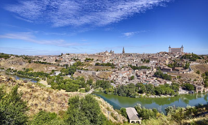 """Vista del casco histórico de Toledo.El proyecto """"Toledo Ciudad Inteligente"""" fue seleccionado en la I Convocatoria Ciudades Inteligentes para su financiación con casi un millón de euros."""