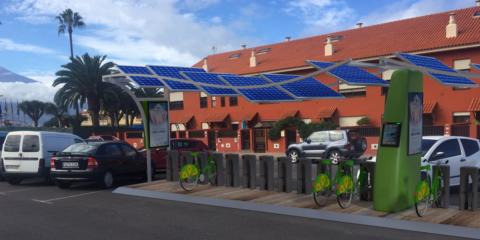Sunbik: Sistema urbano de bicicletas eléctricas inteligentes que se recargan con energía solar en su propio aparcamiento