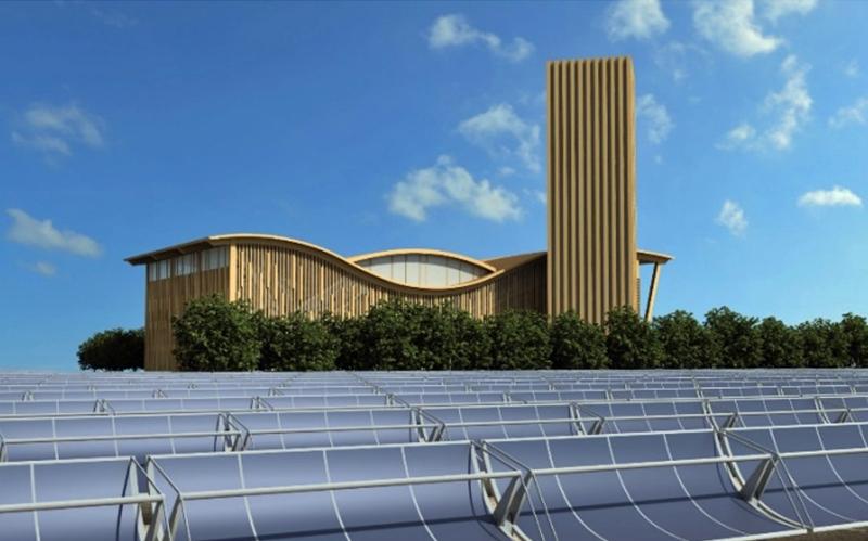 Central de generación red de calor de la ciudad complutense