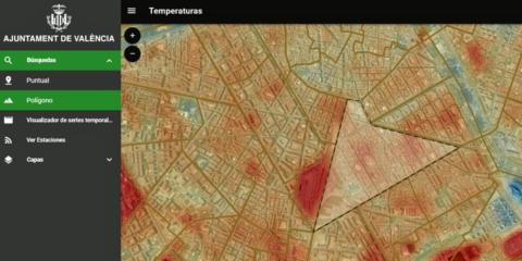 Valencia: Repercusión de las acciones para el cambio climático a través de la evolución de la temperatura