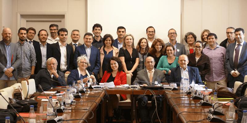 Foto de familia del Comité Técnico del V Congreso Edificios Energía Casi Nula.