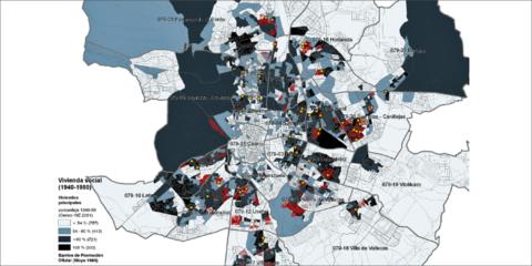 Utilización de datos catastrales en proyectos de investigación de la edificación a escala urbana