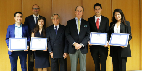 Dos trabajos universitarios sobre turismo inteligente y cambio climático, entre los ganadores de los Premios UNE