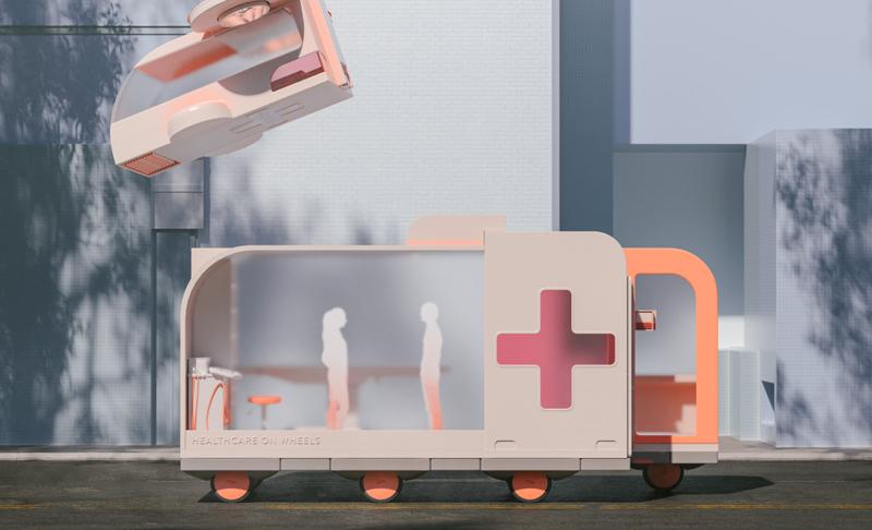 Llevar la consulta médica a quienes lo necesitan y no tienen cerca infraestructuras sanitarias es la idea de este espacio sobre ruedas.