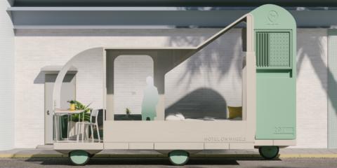 """Ikea piensa el futuro de la movilidad en coche autónomo como """"Espacios sobre ruedas"""" para ocio, descanso o trabajo"""
