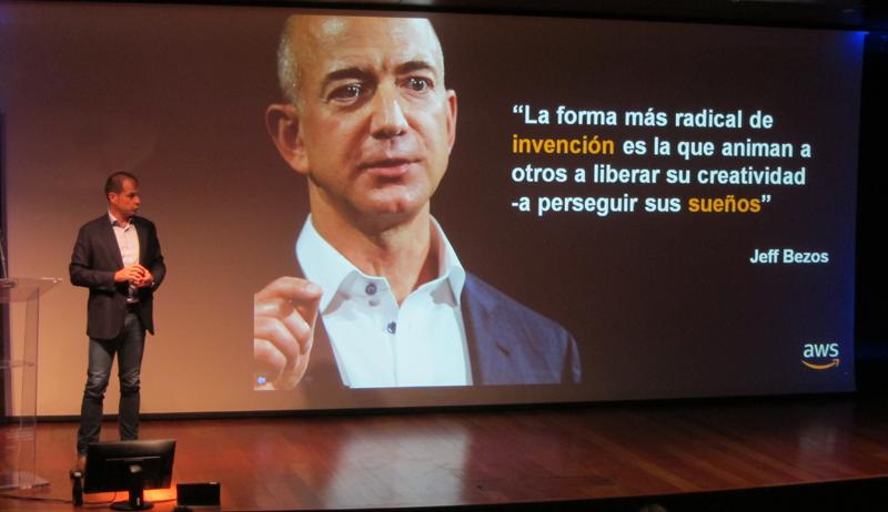 Miguel Álava, director para el Sur de Europa de Amazon Web Services (AWS)