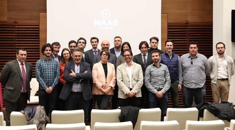 """Presentación de los nuevos servicios de la App de EMT """"MaaS Madrid"""", que permitirá reservar y pagar desde una sola aplicación, desplazamientos en todos los transportes públicos y servicios de carsharing, patinetes eléctricos y motorsharing disponibles en la ciudad."""