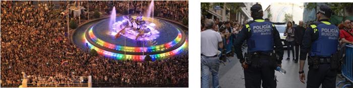 Figura 4. Imágenes del WorldPride 2017 de Madrid.