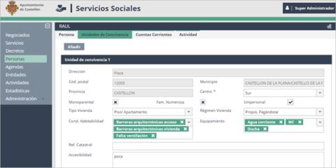 Transformación telemática de la gestión de los servicios sociales municipales