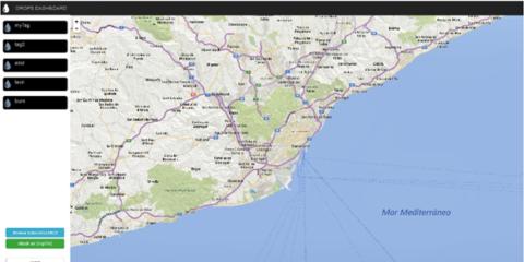 """Localización para seguridad en smart cities. El caso de """"Drops"""" en las playas de Benidorm"""