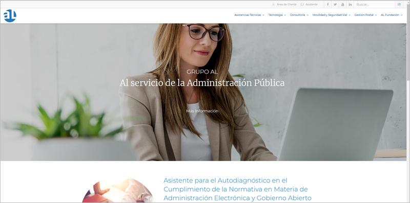 Grupo AL ha lanzado un nuevo portar con diferentes contenidos, muchos de ellos formativos, dirigidos a administraciones públicas y entidades privadas.