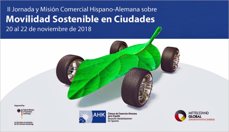 La II Jornada y Misión Comercial Hispano-Alemana sobre Movilidad Sostenible en Ciudades es gratuita y está abierta a profesionales, empresas, sector público y asociaciones del sector.
