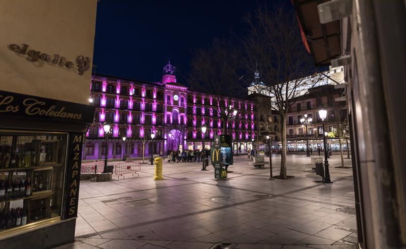 El objetivo era unir el eje de los museos, Catedral de Toledo y Ayuntamiento, con la calle del Comercio y la Plaza Zocodover.