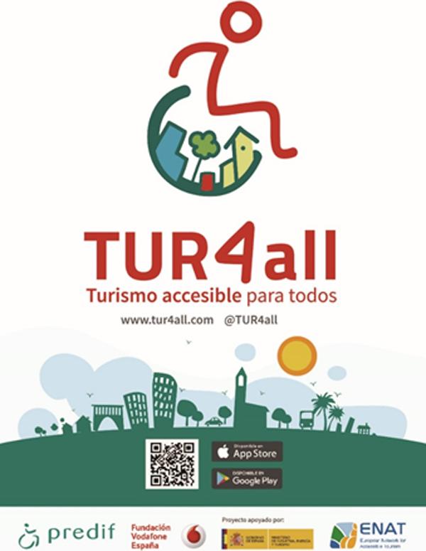 Figura 1. Cartel de la App TUR4all (www.tur4all.com).