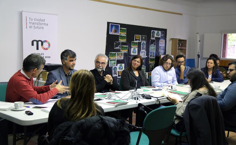 """La Concejalía de Medio Ambiente ha presentado la campaña """"Móstoles Transita 2030""""."""