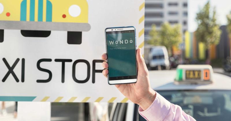 """La plataforma de movilidad urbana """"Wondo"""" se puede descargar como una aplicación móvil que ejerce de planificador de viajes y ofrece información sobre todo tipo de transportes en la Comunidad de Madrid."""