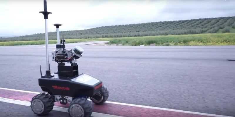 Pruebas de desarrollo de la tecnología del proyecto Pandora en la que, mediante sensores en drones y otros vehículos no tripulados, se consigue mapear en 3D un entorno determinado.