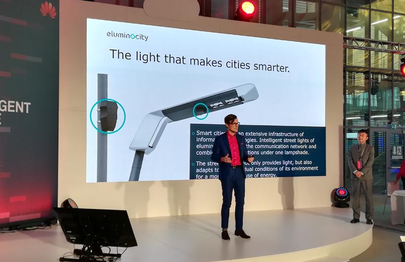 Eluminocity es una de las empresas con las que Huawei firmó un convenio de colaboración para desarrollar soluciones de ciudad inteligente.