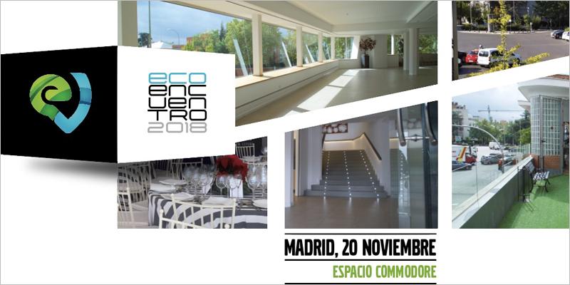 EcoEncuentro 2018 se desarrolla este martes en el Espacio Commodore de Madrid.