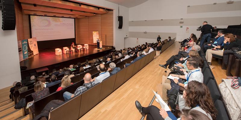Imagen de la celebración del I Foro Nueva Administración celebrado en Alcobendas, en el que la transformación digital y la gestión del talento en la Administración Pública.