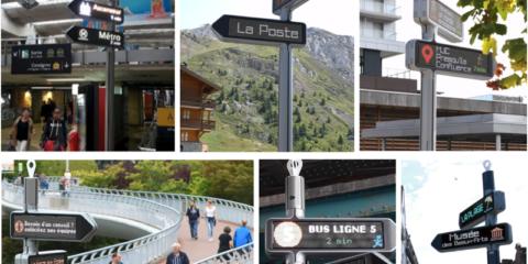Señalización digital direccionable interactiva: información, orientación, localización y geolocalización