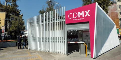 Sistema de aparcamiento inteligente de bicicletas para la Ciudad de México