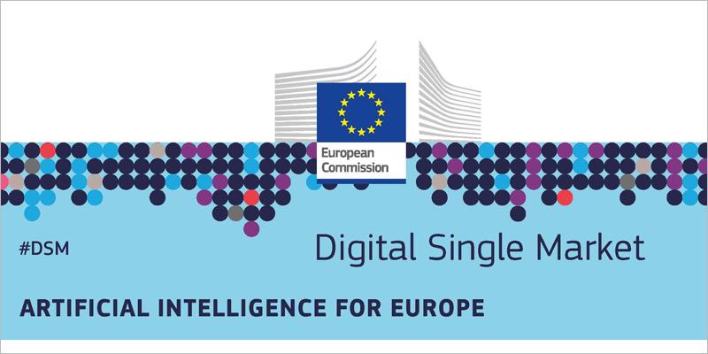 El plan de la Comisión Europea para el desarrollo de la inteligencia artificial en Europa se ha marcado como objetivo alcanzar los 20.000 millones de euros de inversión pública y privada hasta 2020.