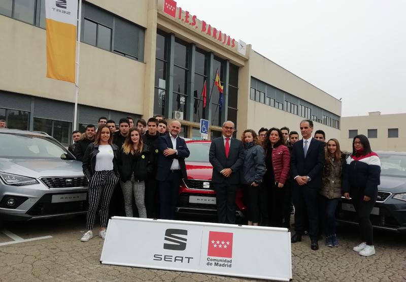 La Comunidad de Madrid ha incluido formación específica en vehículos eléctricos en la Formación Profesional de la rama de Automoción y ha implantado un plan desarrollado por Seat para que los estudiantes puedan hacer prácticas en las instalaciones del fabricante.