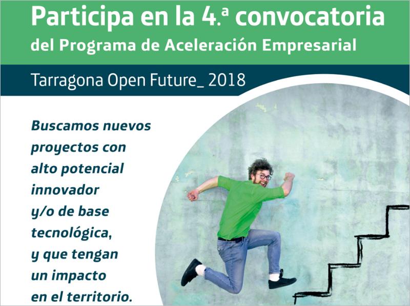 La cuarta convocatoria Tarragona Open Future estará abierta hasta el 14 de diciembre.