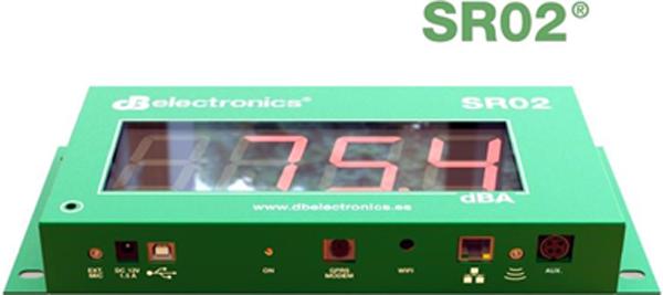 Figura 2. Sonógrafo regidtrador SR02.