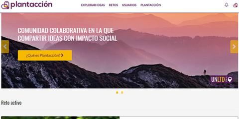 Plantacción: Plataforma colaborativa que promueve la innovación social a través de ideas que fomentan las ciudades sostenibles