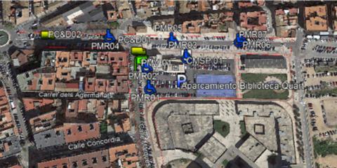 Sistema de gestión y control de aparcamiento en vía pública PMUS