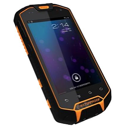 Figura 2. Dispositivo móvil de aplicación de soporte.