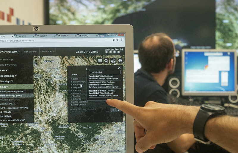 El proyecto Anywhere ha desarrollado una plataforma paneuropea para anticipar catástrofes naturales que puedan darse en Europa.