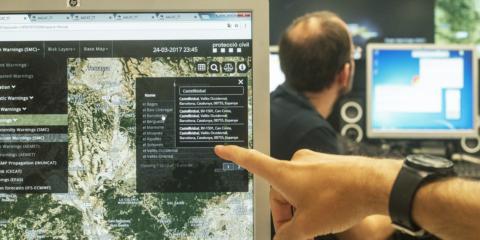 Anticiparse a las catástrofes naturales con tecnología, así trabaja la plataforma paneuropea del proyecto Anywhere
