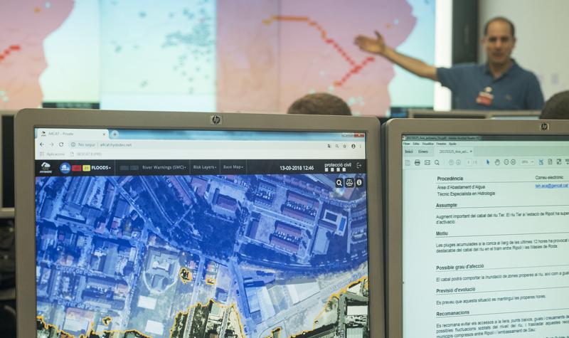 La plataforma A4EU se implementará en los centros de gestión de emergencia europeos como herramienta de pronóstico de riesgos y de ayuda en la toma de decisiones.