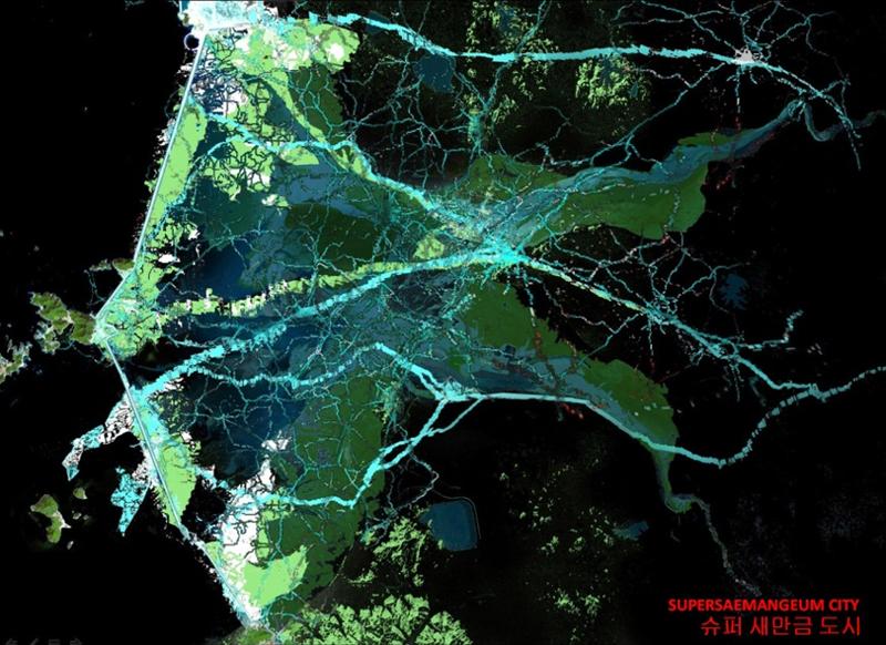 Figura 1. Master Plan para la ciudad de SuperSaemangeum.