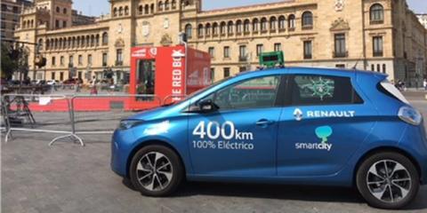 Diagnosis del ruido ambiental en municipios mediante el empleo de un vehículo eléctrico monitorizado