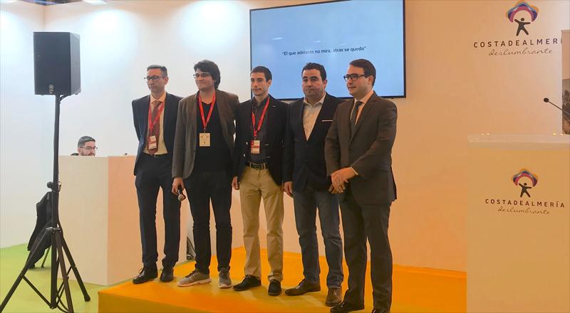 Presentación del proyecto Almanzora Eléctrico formado por los hosteleros del valle para crear una red de recarga para vehículos eléctricos en la comarca.