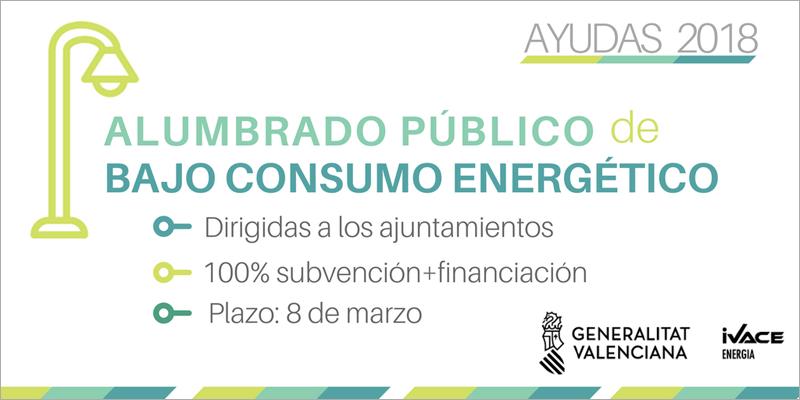 Los municipios de la Comunidad Valenciana de menos de 20.000 habitantes pueden presentar sus proyectos hasta el 8 de marzo.