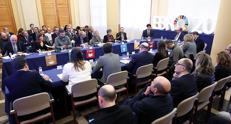 Primera reunión del Consejo del Futuro de Aragón, del que forman parte expertos del mundo académico, empresarial, social y cultural.