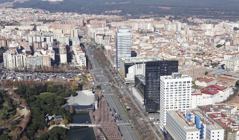 Vista de la ciudad de Sabadell, única española que forma parte del proyecto europeo Triangulum.