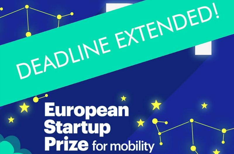 """El 25 de enero a mediodía cierra el plazo para todas las empresas emergentes interesadas en presentar proyectos a la iniciativa """"European Startup Prize for Mobility""""."""