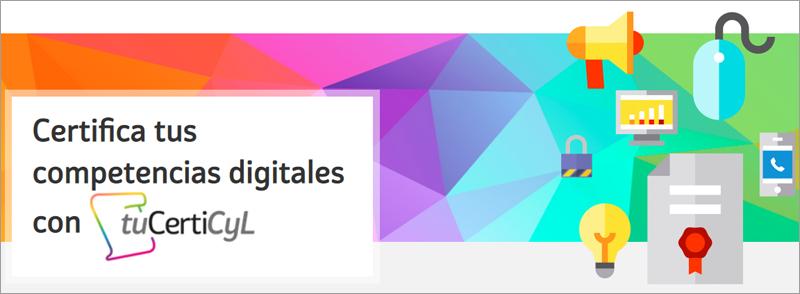 """""""tuCertiCyL"""" es la certificación en competencias digitales que ha lanzado la Junta de Castilla y León."""
